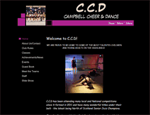 Tablet Preview of campbellcheer.co.uk